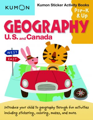 Geography: U.S. and Canada Sticker Activity Book