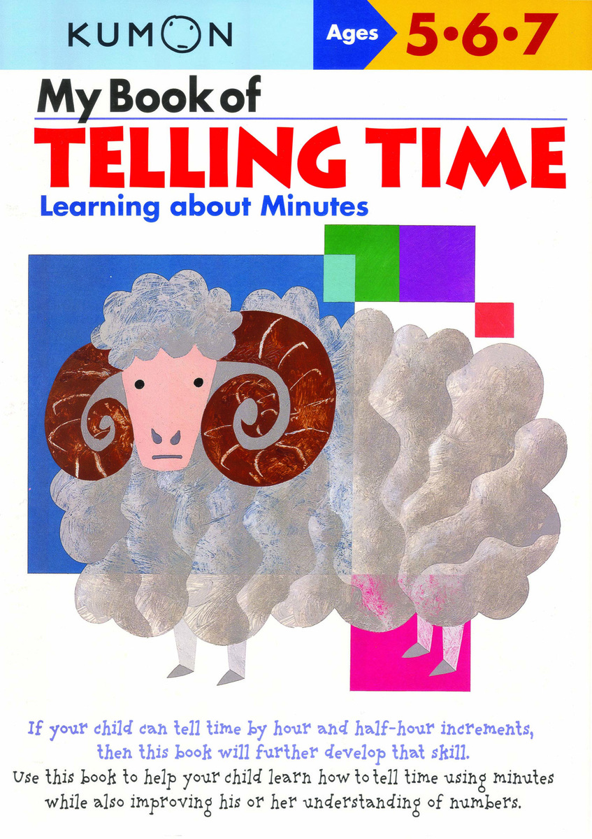 My Book of Telling Time Learning About Minutes